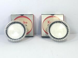 [Almost unused Mint in Box] Kenko No.1 No.3 Close-Up 52mm Lens Filter JAPAN