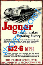 "Beware Of Jaguar 8/"" x 12/"" Vintage Aluminum Retro Metal Sign VS228"
