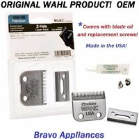 WAHL # 1045-100 REPLACEMENT BLADE SET PRO 2 HOLE PRECISION CLIPPER BLADE NEW