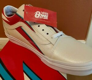 NEW Vans x David Bowie Aladdin Sane Old Skool Skate Shoe DB