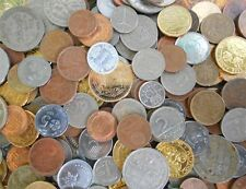 100 Coins LOT - WORLD MIXED COUNTRIES - At least 40 Countries