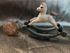 Hagen Renaker Bone China Rocking Horse Miniature