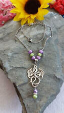 Dragon necklace inspired by Mal, Descendants