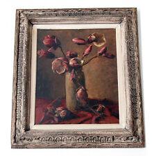 TRÈS RARE TABLEAU de CONRAD KICKERT1945 peintre Hollandais de Montparnasse signé