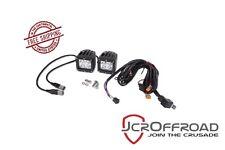 JCR Offroad 3X3 LED Cube Light Set - Driving Beam - Universal Jeep