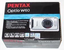 Pentax Optio W60 10.0 MP Waterproof Digital Camera Silicone Cover + 3 batteries