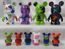 "Disney Vinylmation Oh Mickey Mouse COMPLETE SET (4) 3"" + (6) 1.5"" Jr. Figures"