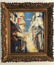 "Impressionism Oil Painting Canvas Signed Serguei Novitchkov Certificate 20""x 24"""