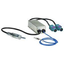 DOPPEL 2 x FAKRA auf DIN Diversity Phantom Antennenadapter Audi VW Seat Skoda