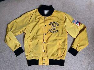 Roots Of Fight Muhammad Ali Frazier Thrilla In Manila Jacket Large Men's rare