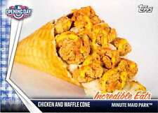 2017 Topps Opening Day Incredible Eats #IE-6 Chicken and Waffle Cone Astros