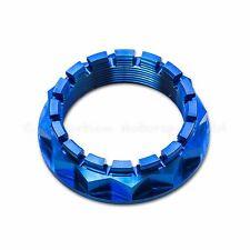 Ducati Panigale 1098, 1198 S,  1199 S, 1299 S Blue Titanium Rear Wheel Axle Nut