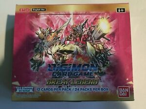 Digimon Card Game - GREAT LEGEND  RARE - Singles (English TCG ) SELECT YOUR OWN