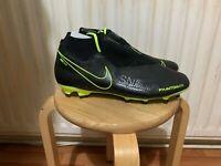 Nike Phantom Vision Pro Dynamic Fit FG Firm-Ground Football Boot Size 9 UK Black