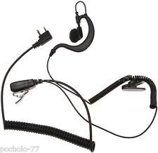 Midland A21m micro auricular con orejera y PTT profesional cable resistente