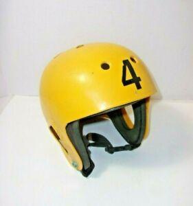 Skydiving Vintage Helmet Yellow Sky Dive