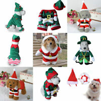 Halloween Christmas New Pet Dog Cat Puppy Costume Fancy Dress Up Clothes Outfits