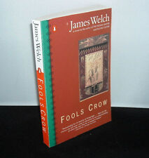 FOOLS CROW by James Welch paperback book FREE USA SHIP fool's Native American