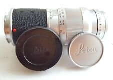 Leica Elmar 135mm f/4 lens in M Mount in excellent order and shape, with caps