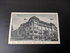 Postcard 1943 Hertie Depatment Store Berlin Posted Tag Der Briefmarken Cancel