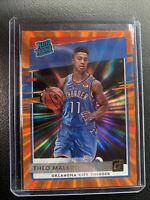 2020-21 NBA Donruss Theo Maledon Orange Laser Rated Rookie RC #242 OKC