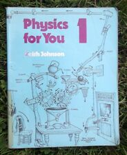 Physics for You: Bk. 1 by Keith Johnson Paperback School Book + FAST & FREE P&P
