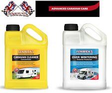 Fenwicks Caravan Cleaner 1 Litre & Overwintering 1 Litre Twin Pack