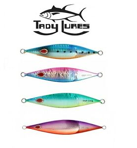 Tady Lures Slow Pitch Jigs Flutter Fall Saltwater Jigging Select Size Color