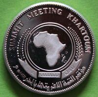 SUDAN 5 POUNDS 1978 ARGENT
