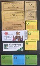 Germany 1966-1983 Berlin Booklets MNH