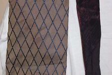 Tommy Hilfiger men's neck tie 100% silk brown maroon classic width short