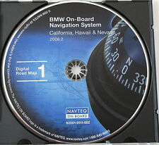 01 2002 BMW M3 M5 325i 330i 540i 325Ci 330Ci NAVIGATION DISC CD 1 CALIFORNIA NV