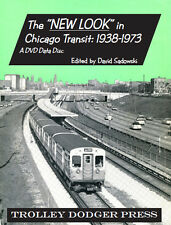 "The ""New Look"" in Chicago Transit: 1938-1973 PDF E-Book on DVD Data Disc-"