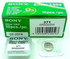 1x Batterie Knopf SONY 371 - SR920SW - SR69 - V371 - D371 - 1, 55v