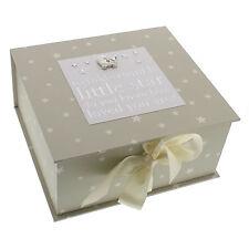 Baby Keep Sake Box Twinkle Little Star Bambino by Juliana Engraved FOC CG1059