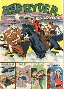 Red Ryder Comics   #16    NM-    December 1942    Dell Publication