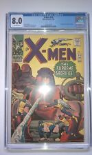 X-MEN #16 CGC 8.0 COMIC 1966 3RD SENTINELS STAN LEE JACK KIRBY