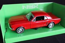 Welly Ford Mustang Coupé 1964 1/2 1:24 red