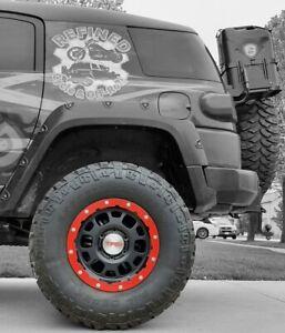 "RR2 Replacement Rock Rings for 16"" Toyota TRD Beadlock Wheels, FJ 4Runner Tacoma"
