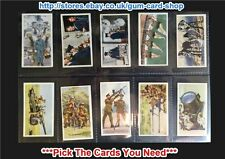 Military/War Loose Collectable Carreras Cigarette Cards
