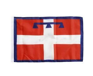 Italien Piemont Banner italienische Fahnen Flaggen 30x45cm