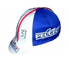 CYCLES PEUGEOT RETRO CYCLING TEAM CAP - VINTAGE - FIXED