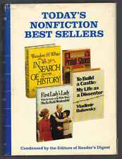 Today's Nonfiction Best Sellers First Lady's Lady, In Search of History, Proud