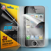 6pcs= 3x Front + 3x Back Screen Protector Cover Film for Apple iPhone 4 4S 4G