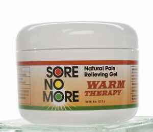 Sore No More Warm Therapy Pain Relief Arthritis 8 oz. Jar (FREE SHIPPING)