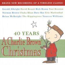1 CENT CD VA 40 Years Charlie Brown Christmas david benoit toni braxton