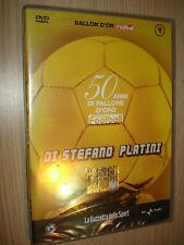 DVD N° 4 50 ANNI DI PALLONE D'ORO DI STEFANO PLATINI