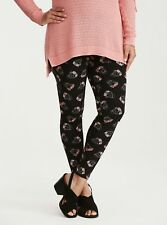NWT Torrid Plus Size 0 0X Flower Crown Skull Print Leggings (45-11)
