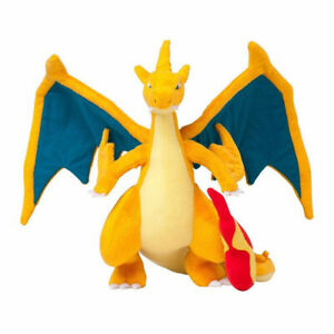 "Mega Charizard Y Mega Plush Doll Stuffed Toy Xmas Gift 10"" Plushies"