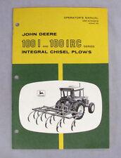 John Deere Owners Operators Manual for 100 I & 100 Irc Series Om-N159219